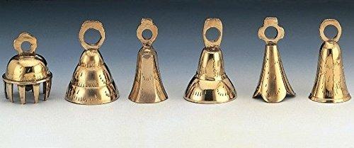 Dozen 2.5' Assorted Brass Bells