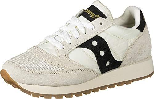 Saucony Jazz Original Vintage, Low-Top Sneakers Donna, Bianco (Bianco 101), 36 EU