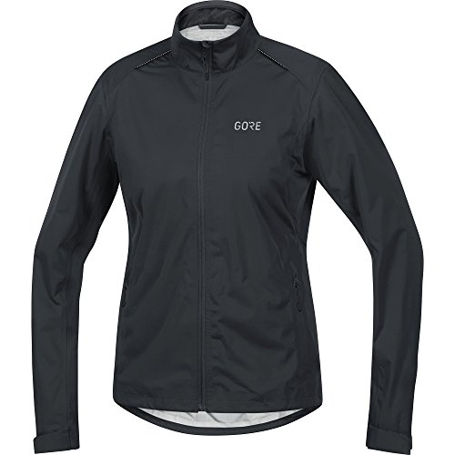 GORE Wear Women's Waterproof Cycling Jacket, C3 Women's GORE-TEX Active Jacket, Size: M, Color: Black, 100041