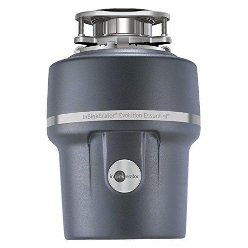 InSinkErator Essential XTR 3/4 HP Household Garbage Disposer, Gray (Renewed)