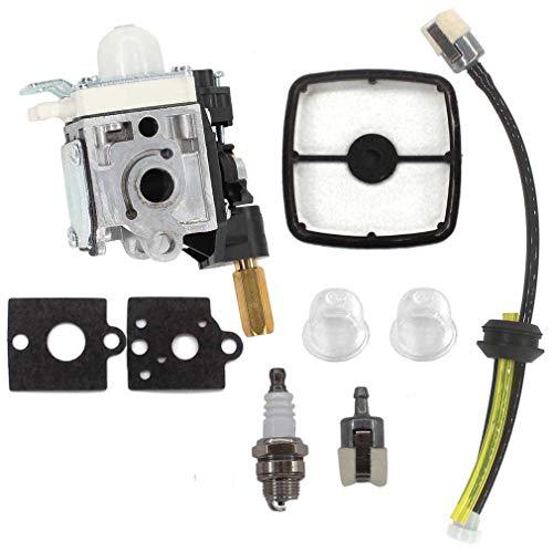AISEN Carburetor for Husqvarna 125BT Back Pack Blower with TJ027D-BC55 Engine Carb Air Filter Fuel Line Tune-up Kit