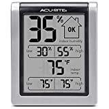 Maintain the Right Temperature and Humidity Levels: Perfect to pair with humidors or humidifiers Simple, Easy-to-Read Display: Easily see a snapshot of current conditions at a glance Daily High and Low Indoor Temperature and Humidity Levels: Easily u...
