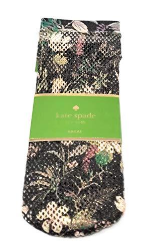 Kate Spade Anklet Socks,1 Pair,Black/Multi