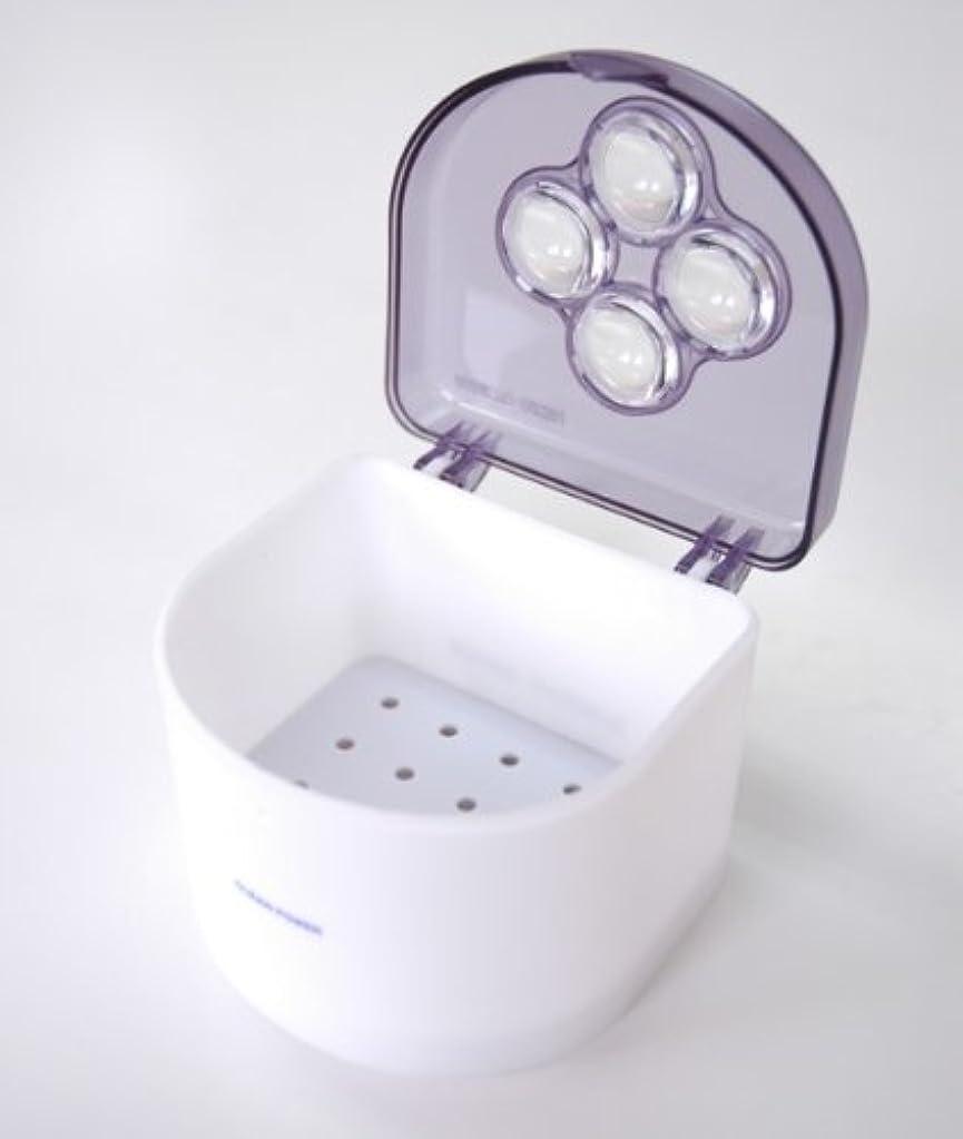 不平を言う心配するがんばり続ける【CLEAN POWER】入れ歯クリーナー「クリーンパワー」 2個セット 日本製