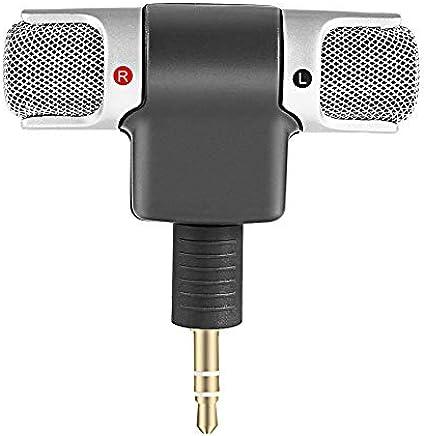 Hnourishy Mini Microfono Stereo Digitale Mini Microfono da 3,5 mm Mini Jack per PC Notebook Portatile Registrazione Stereo Canale Destro e Sinistro - Nero - Trova i prezzi più bassi
