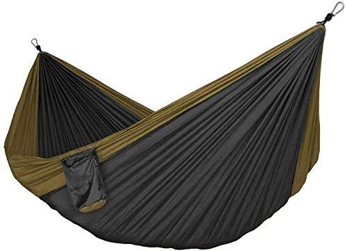 YSCYLY Hamac, SièGe Suspendu,Lit de Couchage Parachute en Nylon Double 320X200cm,pour Camping, ActivitéS en Plein Air, RandonnéE