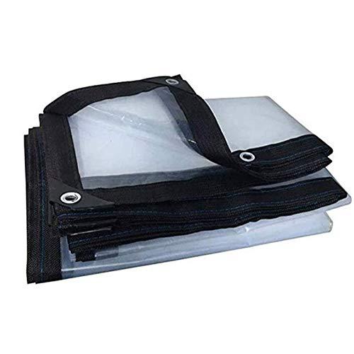 ZXHQ Lona Transparente Impermeable Exterior 4x6m, Lona Impermeable con Ojales, Transparente Impermeable Lona Fuerte Duradero ProteccióN FríO para Coche Carpa del