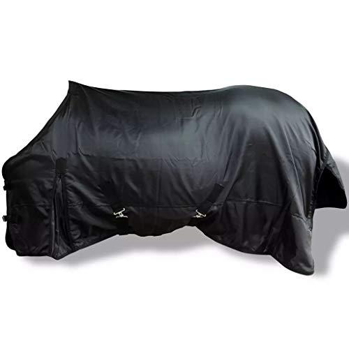 vidaXL 400D Turnout Waterproof Horse Winter Blanket Heavy Belly...