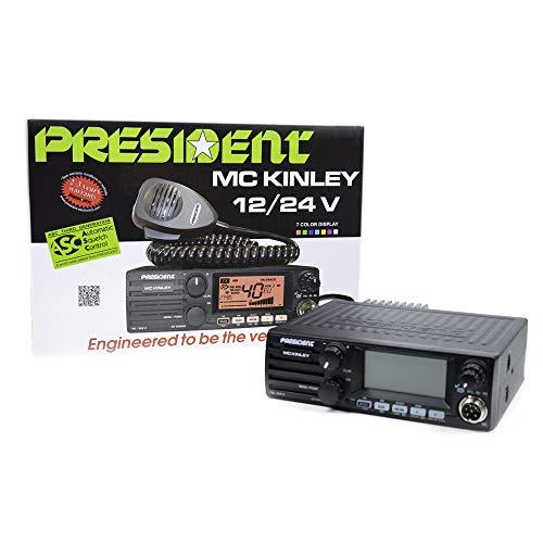 Président MC Kinley ASC 12/24 Volt - Ricetrasmettitore AM/FM/SSB