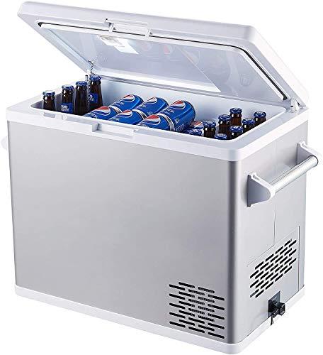 Ausranvik 54-Quart portable freezer Large car refrigerator car fridge - 12V/24V DC and 110V AC