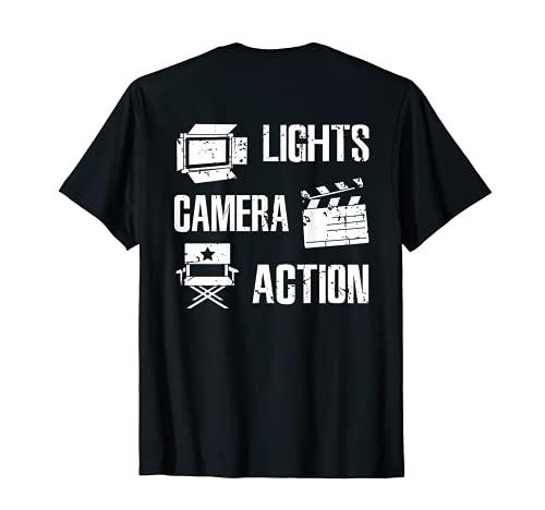 Director de cine Cineasta Cineasta Videgraf Camiseta