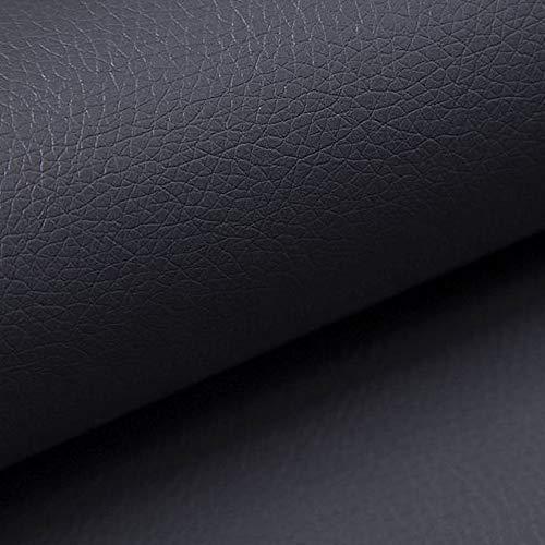 NOVELY® Soltau weiches Kunstleder | PU 1. Qualität Polsterstoff > 100.000 Touren: Farbe: 20 Graphit