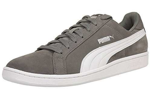 Puma Puma Smash SD, Unisex-Erwachsene Sneakers, Grau (Steel Gray-puma White 14), 45 EU (10.5 Erwachsene UK)