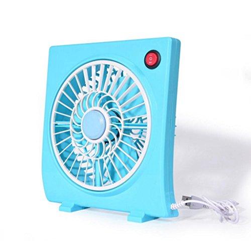 Miaoge Mode en forme de caisson de bureau palettes Brushless mini USB ventilateur grand vent mute artefact 19.5 * 6 * 21.5cm