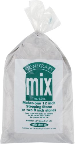 Midwest Products Premium Stepping Stone Cement Mix, 7-Pounds