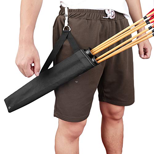 EOU Arrow Quiver Archery Side Quiver Hip Quiver Waist Arrow Holder Bag