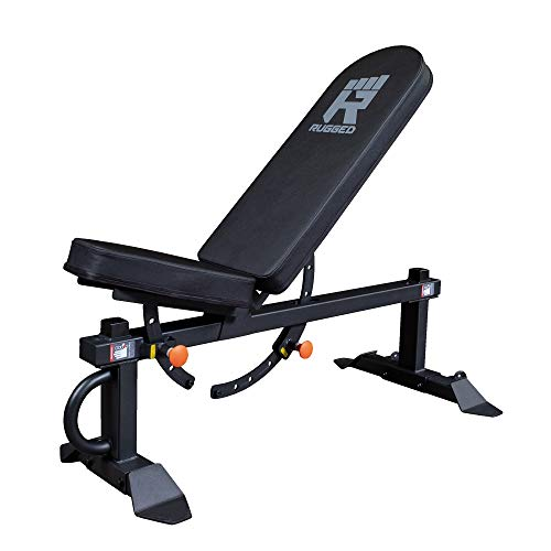Flat Incline Adjustable Rugged Weight Bench 1500 Pound Capacity
