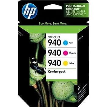 HP 940 OfficeJet 8000/ Pro 8500 Tri-Color Inkjet Cartridge, CN065FN