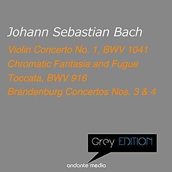 Grey Edition - Bach: Violin Concerto No. 1, BWV 1041 & Toccata, BWV 916