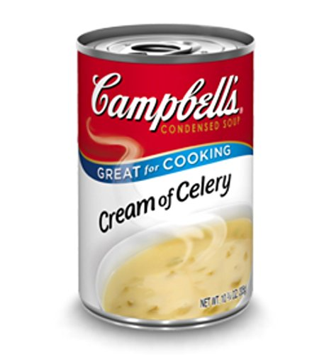 Campbell's, Condensed Cream of Celery Soup, 10.75oz Can (Pack of 6)