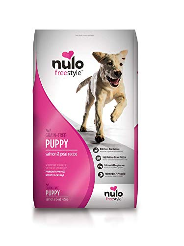 Nulo Puppy Food Grain Free Dry Food With Bc30 Probiotic And Dha (Salmon And Peas Recipe, 11Lb Bag)