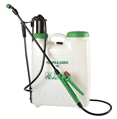 VERDELOOK Pompa a Pressione Jimmy capacità 12 L, per Giardinaggio con irroratore per Le Piante