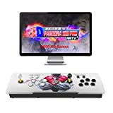 GWALSNTH 3D Pandora Box 18S Arcade Games Console, 4000 in 1 HDMI Video Games Machine for Home, WiFi Function to Add More Games,Games Classification, Pause/ Save/Resume Games Function