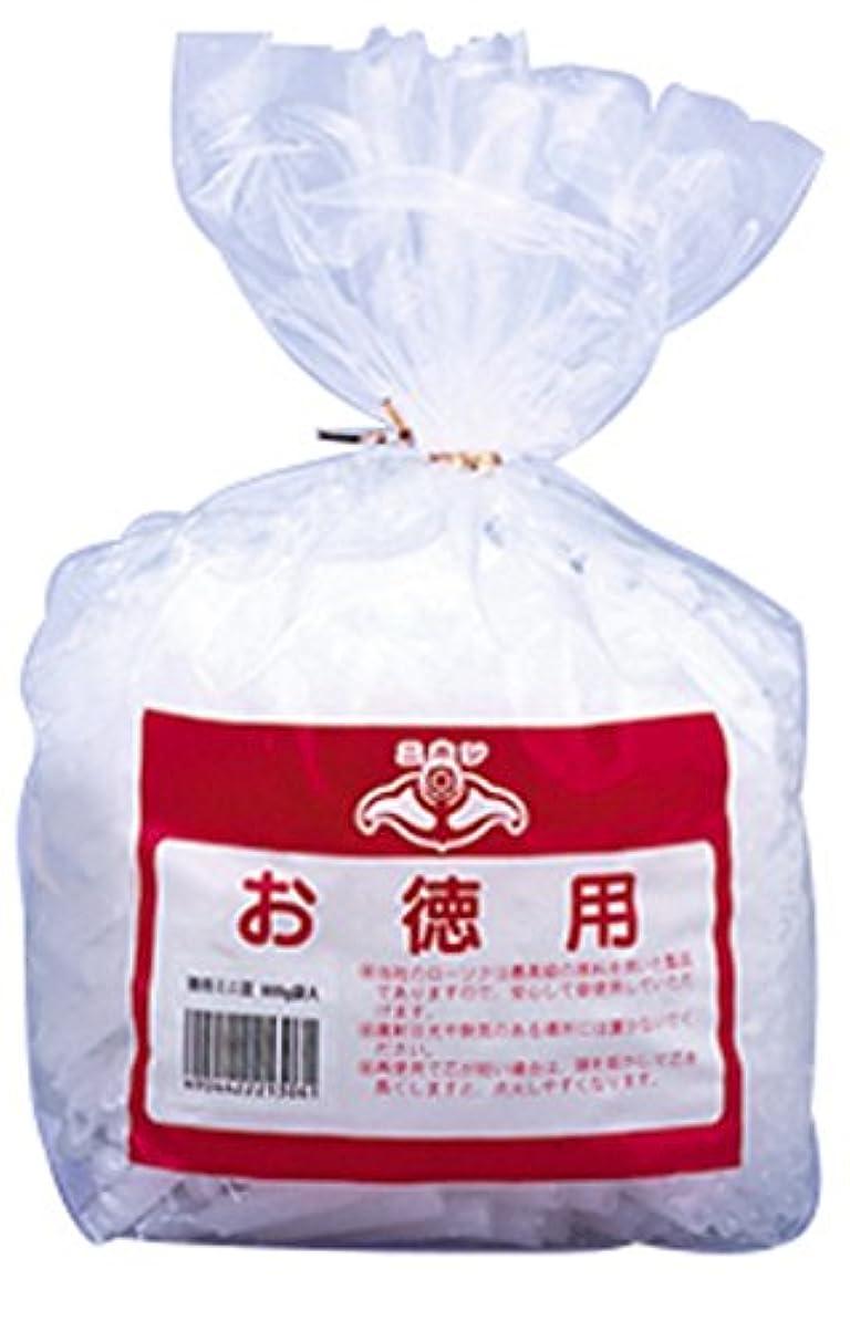 スクラップチョップ木製ニホンローソク 徳用ミニ豆 900g