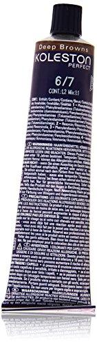 Wella Professionals Koleston Perfect Permanente CremeHaarfarbe, 6/ 7 dunkel Blond braun, 1er Pack (1 x 60 ml)