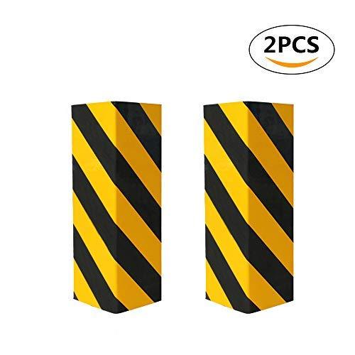Preisvergleich Produktbild BEWAVE Parkplatzschutz,  Garagenwandwarnung Corner Guard Foam,  Ladekantenschutz und Anti-Scratch-Gummi (2 Stck,  Eckenschützer)