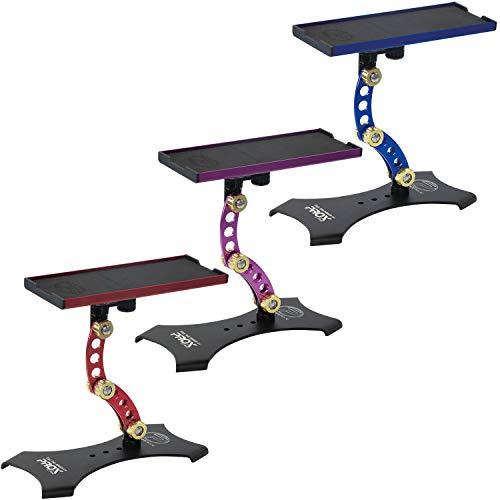 プロックス(PROX) 攻棚ワカサギマルチアクションテーブル ハイタイプ スタンド式/ブルー PX9284STB