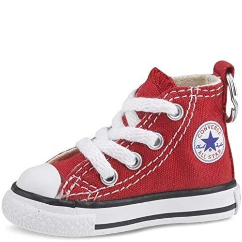 Converse Schlüsselanhänger All Star Chuck Taylor Sneaker Schlüsselanhänger Authentic, rot/weiß, 2x2