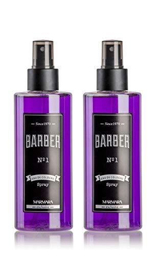 BARBER MARMARA Eau de Cologne Pump-Spray para hombre (2 x 250 ml)...