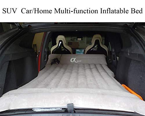 topfit Auto aufblasbare Matratze Travel Camping Air Bed Universal für alle SUV-Fahrzeuge und angepasst für Tesla Model S Model X 5 Seat und Model 3