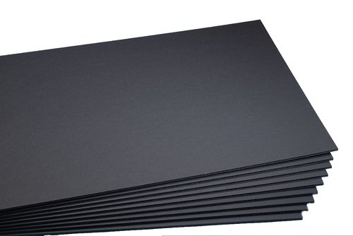 Carton Pluma Precision Negro 5 mm 50x70 cm