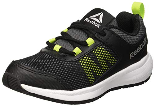 Reebok Road Supreme, Zapatillas de Running para Niñas, Negro (Black/Alloy/Neon Lime/White/Pewter Black/Alloy/Neon Lime/White/Pewter), 38.5 EU