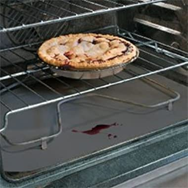 Cooks Innovations Non-Stick Oven Liner; Professional Grade - Never Clean The Bottom Of Your Oven Again
