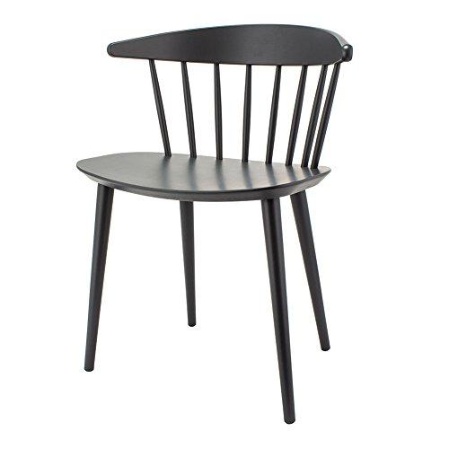 ヘイ HAY チェア J104 ダイニングチェア 椅子 FDB Solid Beech ストーングレー Stone Grey lacquered 木製 イス インテリア 北欧家具 おしゃれ ヨーゲン・べックマーク [並行輸入品]