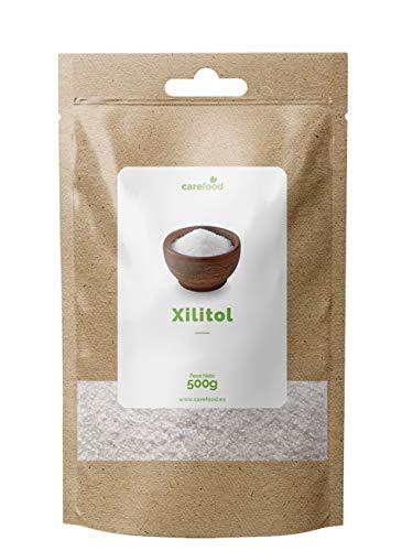 Carefood XIlitol de Abedul Ecológico Alternativa al azúcar - 500 gr