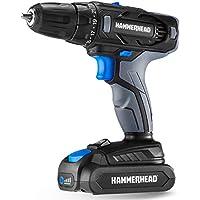 Hammerhead HCDD201 20V 2-Speed Cordless Drill Driver Kit