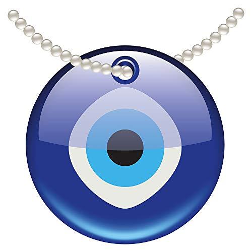Wandtattoo Orient Wandsticker Blaue Kette mit Ornament orientalische Wanddeko z