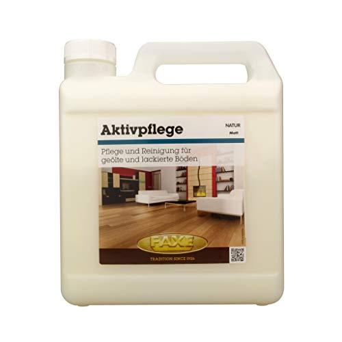 Faxe Aktivpflege matt 2,5 Liter Fußbodenreiniger Parkettpflege Fußbodenpflege by parkett-werk