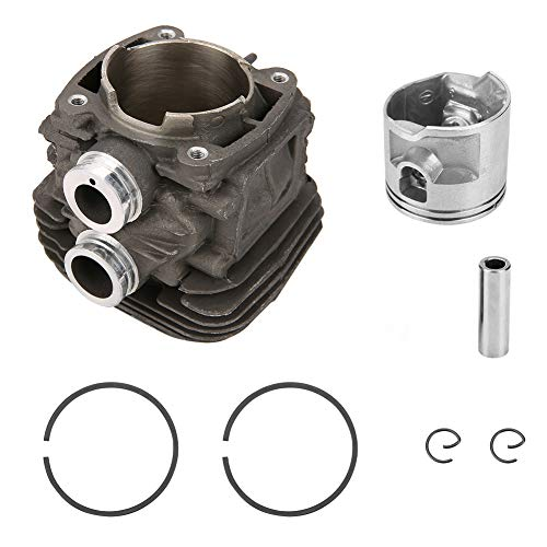 Cylinder Piston Set, 50mm Engine Motor Cylinder Head and Piston Pin Ring Replacement Assembly for STIHL TS410 / TS420
