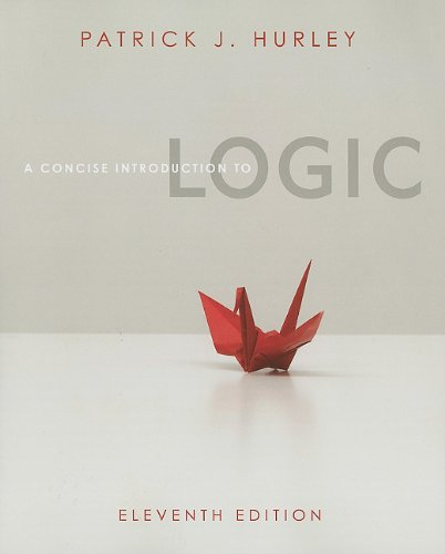 A Concise Introduction to Logic (Book Only)