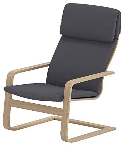 Custom Slipcover Replacement Nur abdecken! Sessel ist Nicht im Lieferumfang enthalten! Der Ersatzbezug Pello Chair Cotton Covers ist speziell für den Bezug IKEA Pello Chair Dark Grey angefertigt