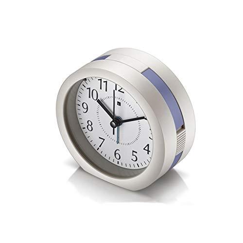 Alarm Clock Music Night Light Backlight Grote digitale Snooze display for Bedroom Nachtkastje Clock Kids Student Small Desktop Clock Stil Ontwerp (Color : B, Size : 10cm*5.5cm)
