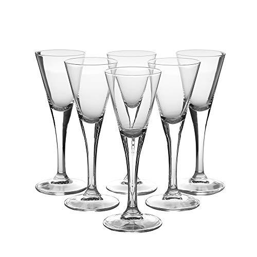 "Likörgläser Likörschalen 6 Gläser für Likör Eierlikör- Schalen \""Diamond 55 ml NEU&OVP"