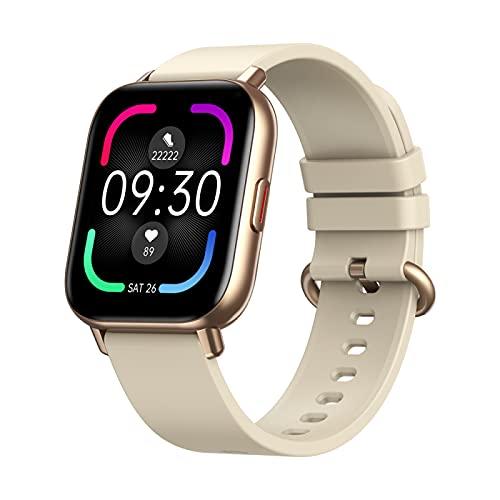 Reloj inteligente GTS Pro, rastreador de fitness TFT de 1.65 pulgadas, con monitor de ritmo cardíaco, seguimiento de sueño, reloj inteligente para Android y iOS Phone IP68 resistente al agua