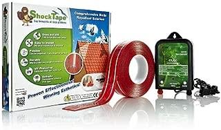 Shock Tape Pigeon Control Bird Repellent Device - Ultimate Solution for Keeping The Birds Away - DIY Bird Deterrent - Exclusive, Effective & Durable Electronic Bird Repeller Kit