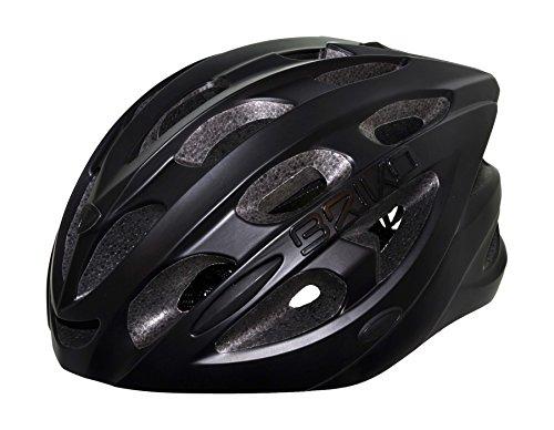 Briko Quarter - Casco de Ciclismo Unisex, Color Negro, Talla M